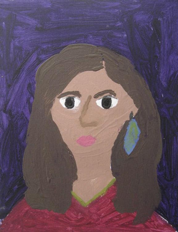 Portrait of Demi Lovato