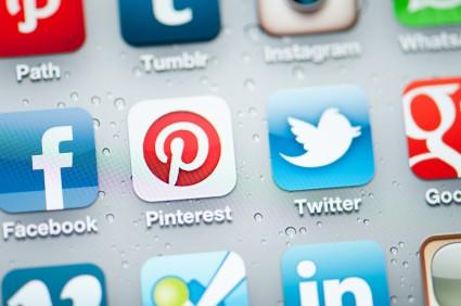 Social netwrorking icons