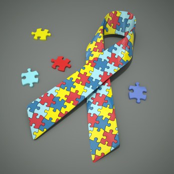 Autism Awareness Ribbon