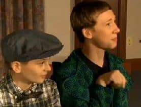 two young boys