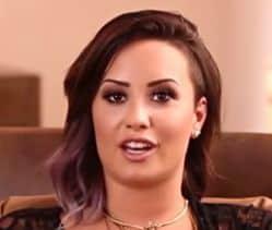 headshot of Demi Lovato