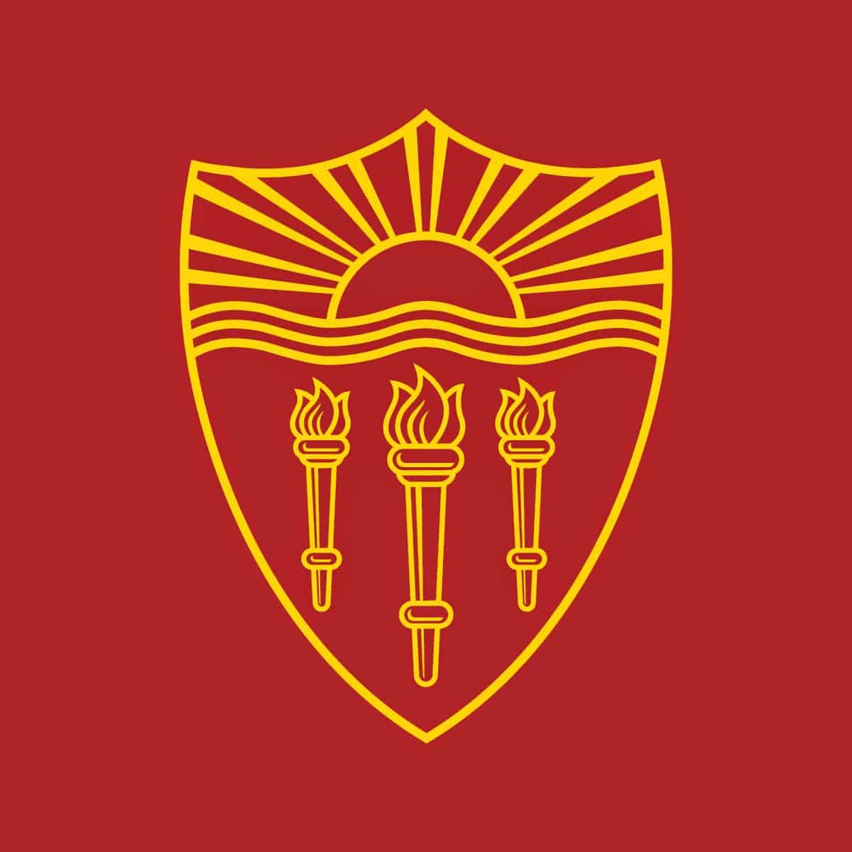 University of Southern Caliornia Shield