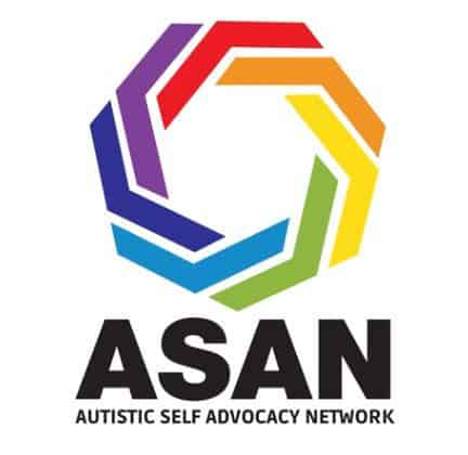 logo of ASAN, the Autistic Self Advocacy Network