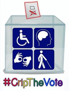 Logo for #CripTheVote