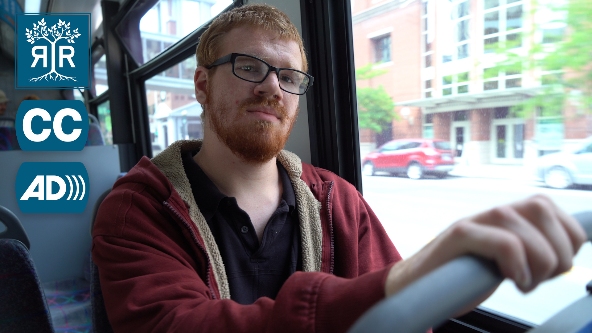 Jonah on a transit ride